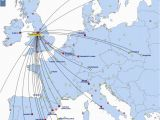 Map Of Ryanair Airports In France Ryanair World Airline News