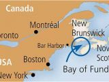 Map Of Saint John New Brunswick Canada Bay Of Fundy Map Showing the Eastern Seaboard New York