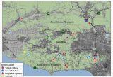 Map Of Santa Monica California Santa Monica California Map Best Of Maps Of California Created for