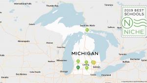 Map Of School Districts In Michigan 2019 Best Online High Schools In Michigan Niche