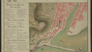 Map Of Sete France File Plan Du Port De Sa Te Et De Ses forts 1790 Archives
