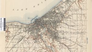 Map Of Shaker Heights Ohio Ohio Historical topographic Maps Perry Castaa Eda Map Collection