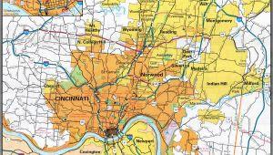 Map Of Sharonville Ohio Cincinnati Zip Code Map Inspirational Ohio Zip Codes Map Maps