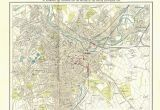 Map Of Sheffield England Other Maps Plans Layouts Sheffield Maps Sheffield