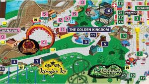 Map Of Six Flags New England Park Map Six Flags Great Adventure