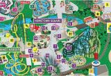 Map Of Six Flags Over Georgia Park Map Six Flags Great America