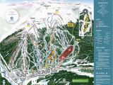 Map Of Ski Resorts Colorado Copper Winter Trail Map