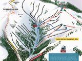 Map Of Ski Resorts In Colorado Copper Winter Trail Map