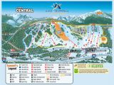 Map Of Ski Resorts In Colorado the Summit at Snoqualmie Alpental Skimap org