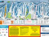 Map Of Ski Resorts In New England Blue Mountain Trail Map Onthesnow
