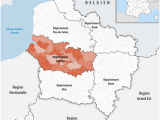 Map Of somme France Departement somme Wikipedia