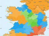 Map Of south East Ireland Political Simple Map Of Ireland