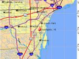 Map Of south Gate California southgate Michigan Mi 48195 Profile Population Maps Real