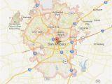 Map Of south Texas towns San Antonio Map tour Texas