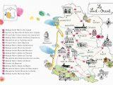 Map Of south Western France Caroline Donadieu Guide Des Abbayes south West France Map Map