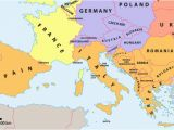 Map Of south Western France which Countries Make Up southern Europe Worldatlas Com