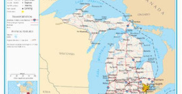 Map Of southeast Michigan Michigan Wikipedia