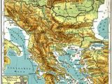 Map Of southern Europe and the Balkans Balkan Peninsula