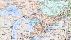 Map Of southern Ontario Canada with Cities Map Of southern Ontario