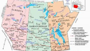 Map Of southern Saskatchewan Canada Plan Your Trip with these 20 Maps Of Canada
