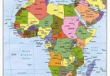 Map Of Spain and Africa Map Of Africa Update Here is A 2012 Political Map Of Africa that