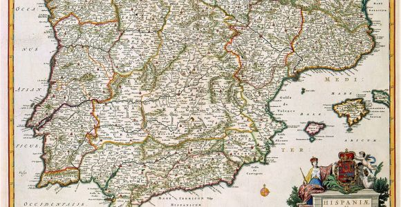 Map Of Spain and France together History Of Spain Wikipedia