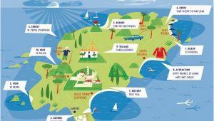 Map Of Spain and Ibiza Ibiza Map Ibiza In 2019 Ibiza Ibiza Spanje En Vakantie