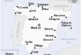 Map Of Spain and Major Cities Spain Wikipedia