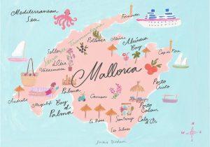 Map Of Spain and Majorca Road Trip Adventures 3 Coastal Cruising In Mallorca Drive