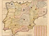 Map Of Spain and Portugal and France French Map Of Spain and Portugal Early 18th Century Inspirational