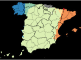 Map Of Spain Autonomous Communities Languages Of Spain Wikipedia
