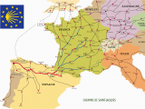 Map Of Spain Camino De Santiago the Many Routes Of the Camino De Santiago