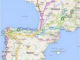 Map Of Spain Camino De Santiago Travel Tips Camino Cestovana A Pana Lsko A Evropa
