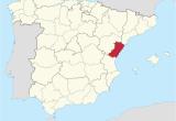 Map Of Spain Communities Province Of Castella N Wikipedia