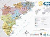 Map Of Spain Costa Blanca Costa Blanca Maps Spain Maps Of Costa Blanca