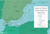 Map Of Spain Morocco and Portugal top Tips On How to Get to Morocco From Spain