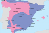 Map Of Spain with Cities and Regions Spanish Civil War Wikipedia
