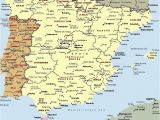 Map Of Spain with Major Cities Mapa Espaa A Fera Alog In 2019 Map Of Spain Map Spain Travel