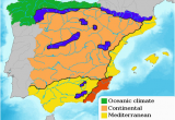 Map Of Spain with Mountains Green Spain Wikipedia
