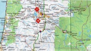 Map Of Springfield oregon Lane County oregon Map Of the Lane County oregon Springfield