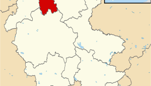 Map Of Staffordshire England City Of Stoke On Trent Wikidata