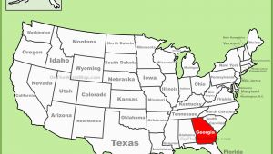 Map Of State Of Georgia Usa Georgia State Maps Usa Maps Of Georgia Ga