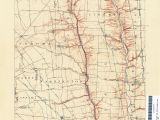 Map Of Summit County Ohio Ohio Historical topographic Maps Perry Castaa Eda Map Collection