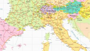 Map Of Switzerland France and Italy Map Of France Italy and Switzerland Download them and Print