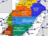 Map Of Tennessee and Arkansas Maps Maps and More Maps Of the Ozarks Ouachita Mountains
