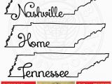 Map Of Tennessee and Arkansas Tennessee Map Outline Typography Clipart Svg Eps by Scrapcobra