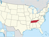Map Of Tennessee and Arkansas Tennessee Wikipedia