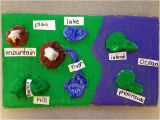 Map Of Texas Landforms Students Create Landforms Maps Using Homemade Clay Mix together One