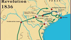 Map Of Texas Revolution Battles Battles Of the Texas Revolution and Important Characters Lessons