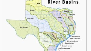 Map Of Texas Rivers and Lakes where is the Colorado River Located On A Map Texas Lakes Map Fresh
